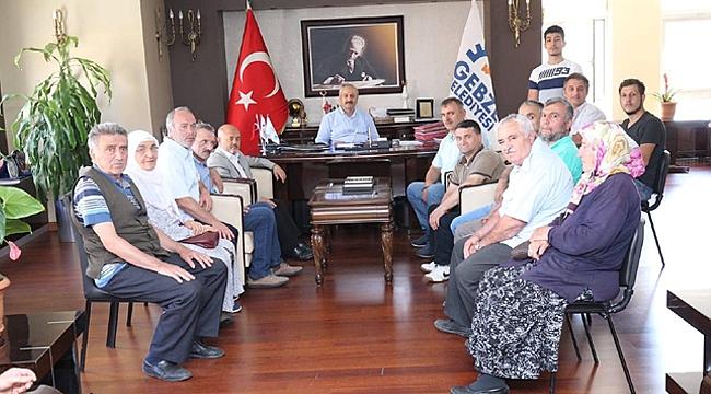 Arapçeşme sakinleri Büyükgöz'e konuk oldu