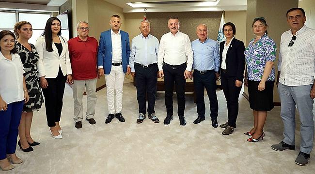 Büyükakın, CHP Kocaeli'yi ağırladı