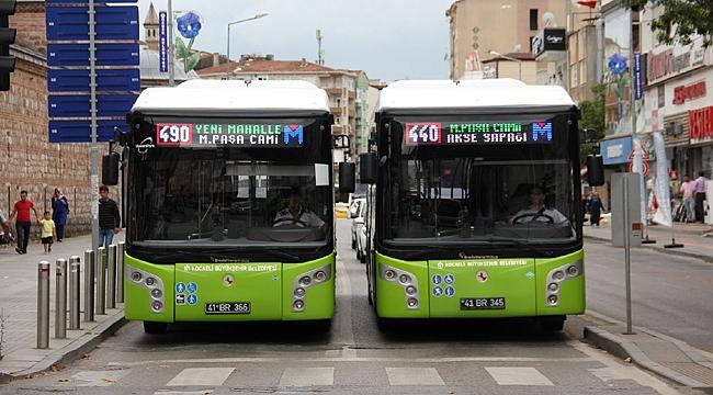 Gebze'de günlük 22 bin yolcu taşıyorlar