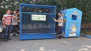 Gebze'deki geri dönüşüm kafesleri yenilendi