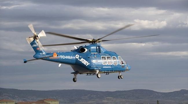 Gökbey helikopteri ilk uçuşunu yaptı