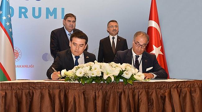 GOSB, Özbekistan'la işbirliği protokolü imzaladı