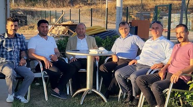 Gözen ve Karahan'dan Düzdaban'a ziyaret