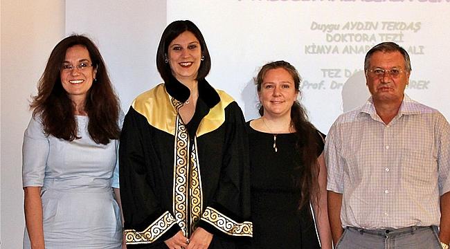 GTÜ'lü akademisyenlere TÜBİTAK'tan ödül
