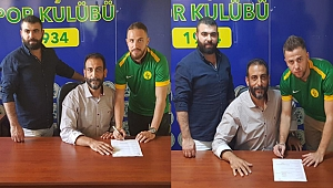 İlk imzalar Ömer ve Ahmet'ten