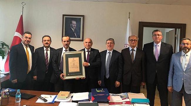 İMES OSB'den Ankara ziyaretleri