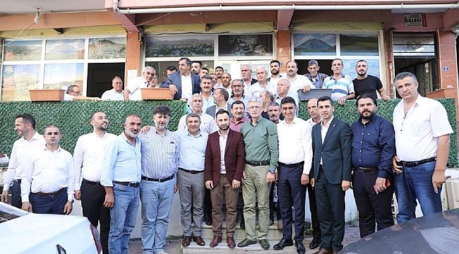 Mehmet Ellibeş'ten Dilovası turu