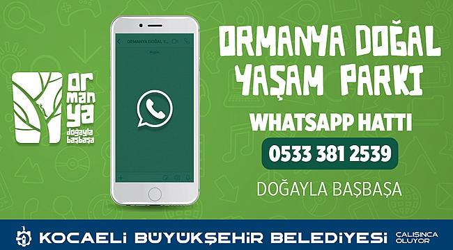 Ormanya için whatsApp hattı oluşturuldu
