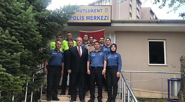 Serkan Kural'dan polislere ziyaret