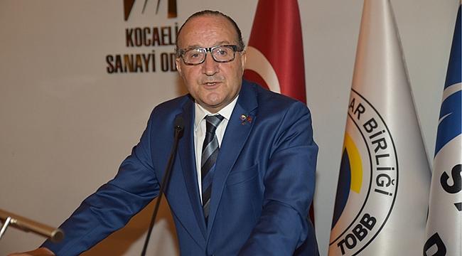 Zeytinoğlu, sanayi üretimini değerlendirdi