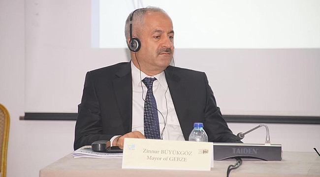 Zinnur Büyükgöz UCLG-MEWA yönetimine seçildi