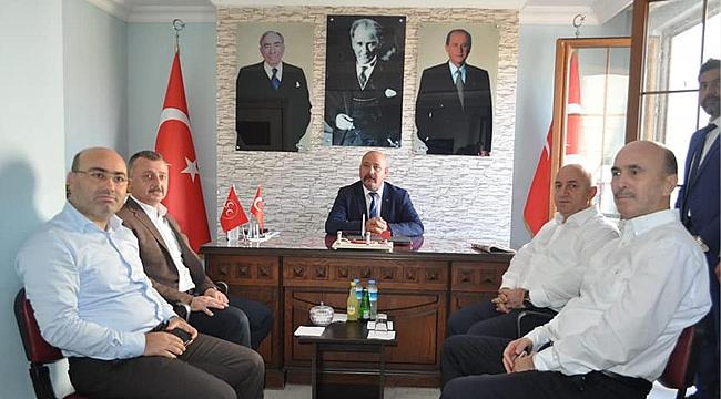 Büyükakın, MHP Darıca'ya gitti