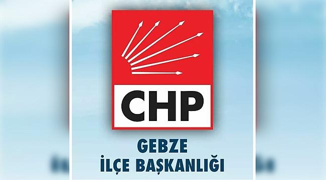 CHP Gebze'den cumhuriyet mesajı