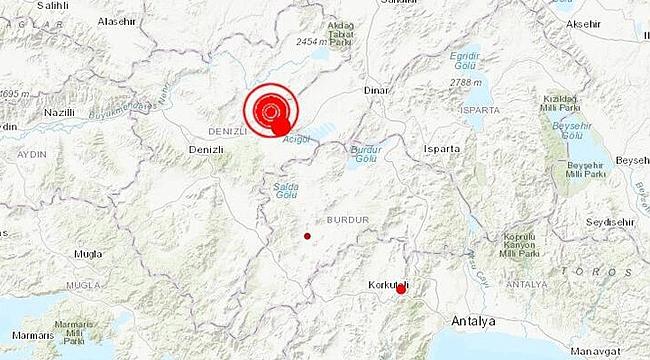 Denizli'de büyük deprem