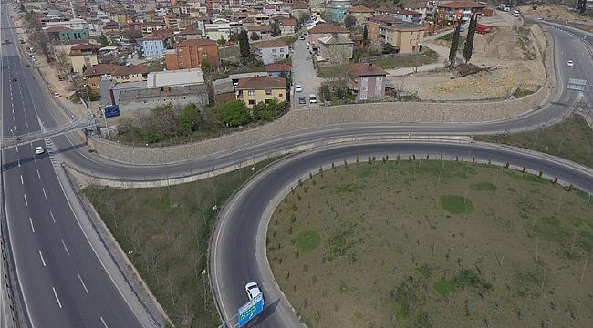 İstanbul çıkışına geçici güzergah