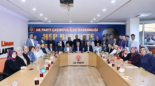 AK Parti Kocaeli, mahalle temsilcileriyle buluştu