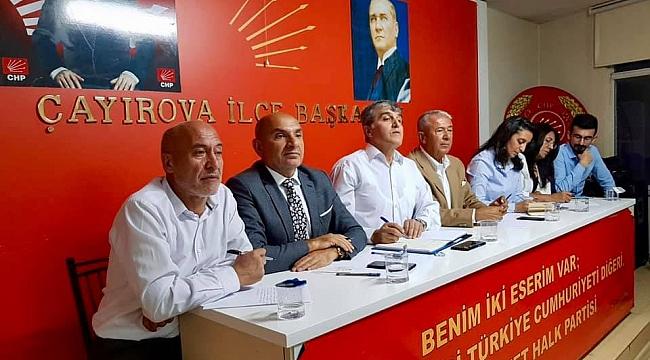 CHP Çayırova, iki gündem maddesiyle toplandı