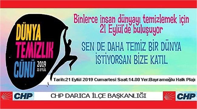 CHP Darıca'dan temizlik etkinliği
