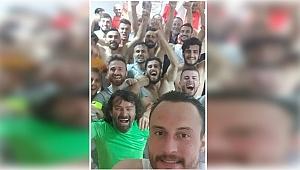 Darıca'da MOR-BEYAZ sevinç