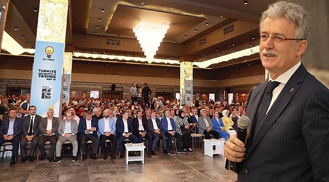 """Ellibeş, """"AK Parti büyük bir aile"""""""