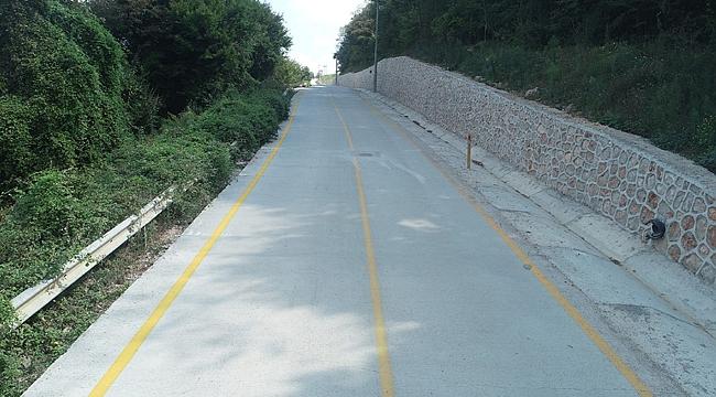 Gedikli ve Zeytinburnu köylerine beton yol