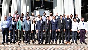 Genç girişimciler Gaziantep'e gitti