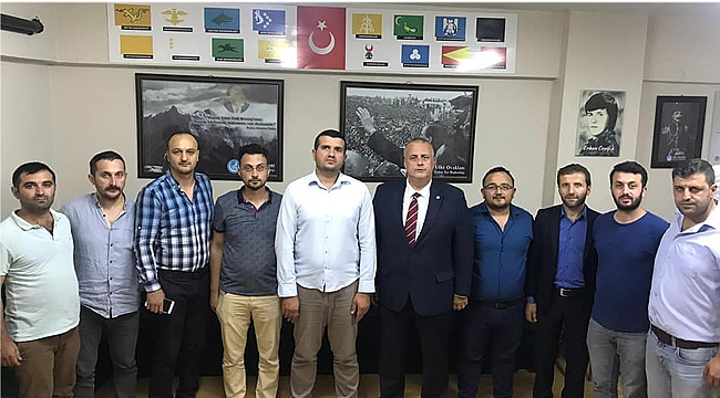 Kural ve ekibi, Turanlı'yı ziyaret etti