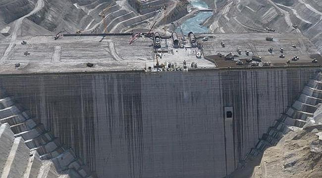 Türkiye ve Avrupa'nın en büyük barajı olacak
