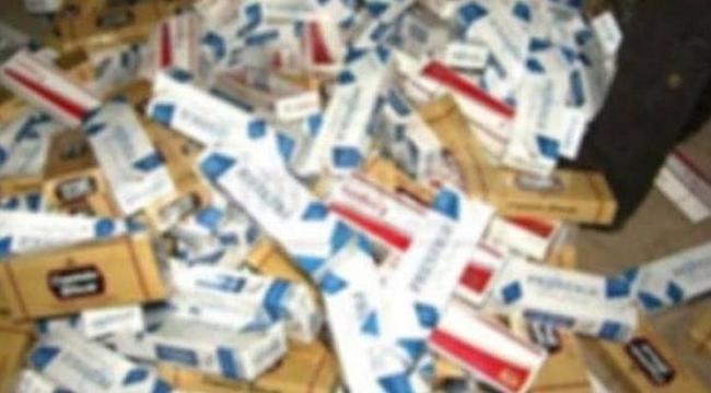 9 milyon paketten fazla kaçak sigara yakalandı