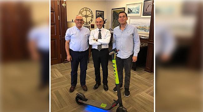 Cavit Kapoğlu, Soyer'le buluştu