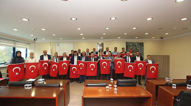 Çayırova meclisinden Barış Pınarı'na destek