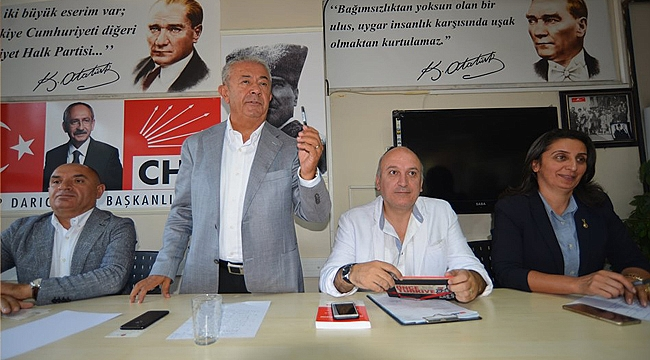 CHP Darıca, danışma için toplandı