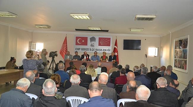 CHP Gebze'den saldırı açıklaması