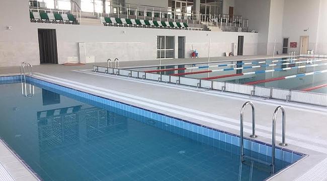 Dilovası Yarı Olimpik Yüzme Havuzu bitti, bitiyor