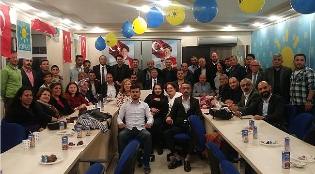 İyi Parti'nin yeni yaşı Gebze'de kutlandı