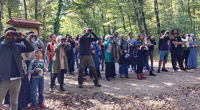 Kuş gözlemcileri Ormanya'da keşfe çıktı
