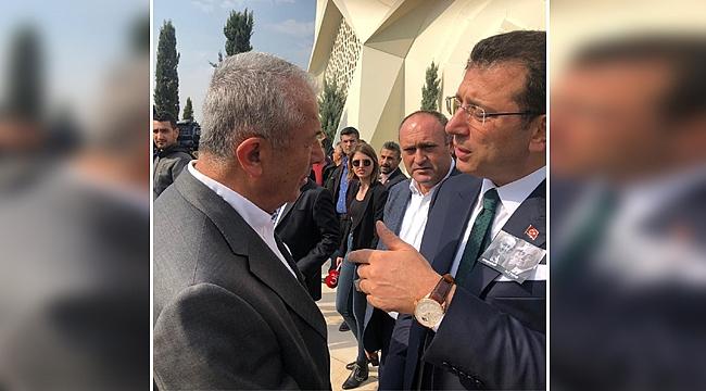 Sarıbay ve İmamoğlu İstanbul'da görüştü