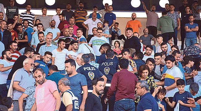 Torbalı-Yalova maçı karakolda bitti