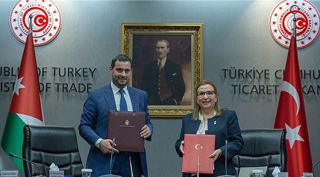 Türkiye ve Ürdün arasında ticari işbirliği