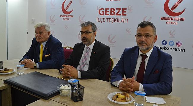 """""""Yeniden Refah, Türkiye siyasetinin çaresidir"""""""