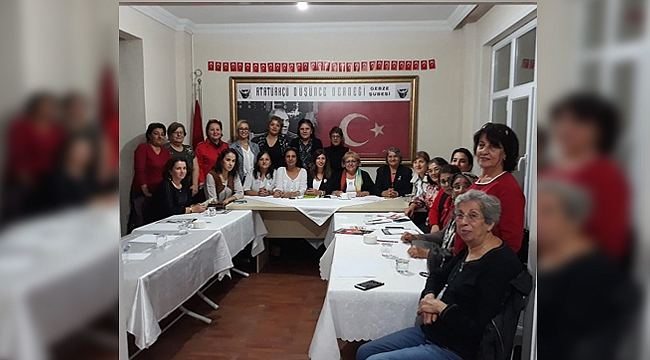 ADD Gebze'den kadın hareketi