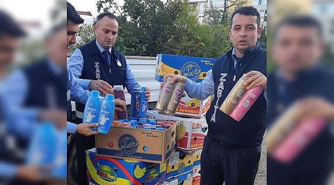 Darıca'da 440 kutu sahte şampuan yakalandı