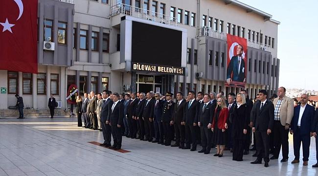Dilovası'nda Atatürk unutulmadı