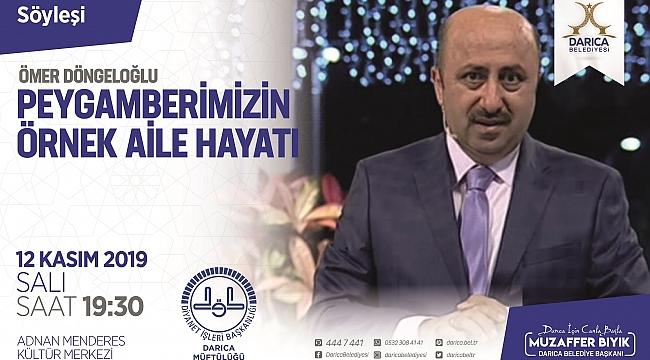 Döngeloğlu, Darıca'da Hz. Muhammed'in hayatını anlatacak