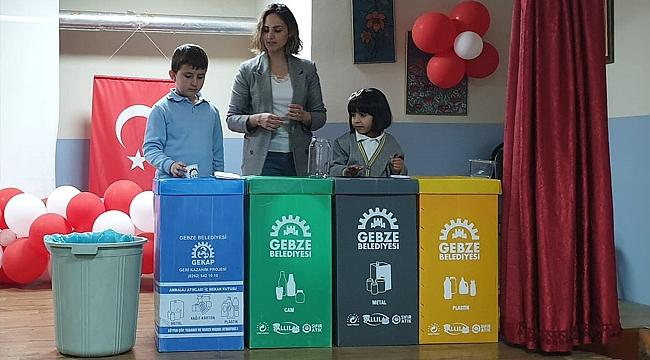 Gebze Belediyesi çevre bilinci aşılıyor