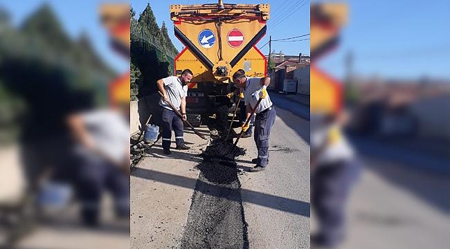 Gebze'de Fen İşleri dört koldan çalışıyor