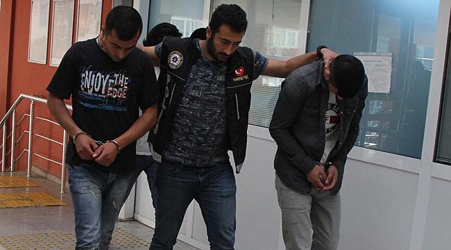 Gebze'de zehir tacirleri enselendi