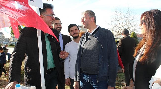 İYİ Partili Yıldız, Gebze'de 'üye' yaptı