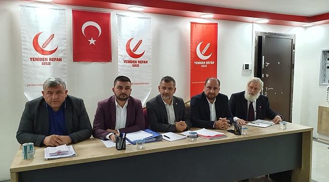 Yeniden Refah Gebze, Ankara'ya çıkarma yapacak