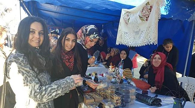 AK Partili kadınlardan milli ekonomiye destek